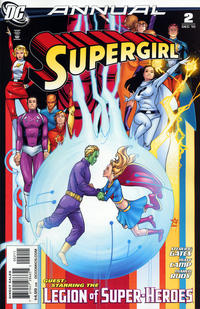 Cover Thumbnail for Supergirl Annual (DC, 2009 series) #2