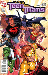 Cover Thumbnail for Teen Titans (DC, 2003 series) #88 [Nicola Scott Cover Edition]