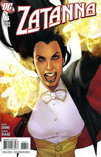 Cover Thumbnail for Zatanna (DC, 2010 series) #6