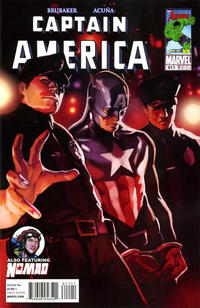 Cover Thumbnail for Captain America (Marvel, 2005 series) #611 [Direct Edition]
