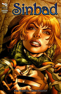 Cover Thumbnail for Sinbad (Zenescope Entertainment, 2010 series) #13 [Cover A - Diego Bernard]