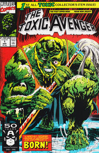 Cover Thumbnail for Toxic Avenger (Marvel, 1991 series) #1 [Direct Edition]
