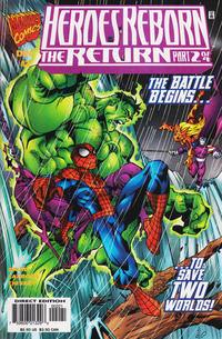 Cover Thumbnail for Heroes Reborn: The Return (Marvel, 1997 series) #2 [Variant Edition]