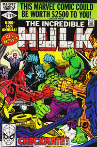 Cover Thumbnail for The Incredible Hulk Annual (Marvel, 1976 series) #9 [Direct]