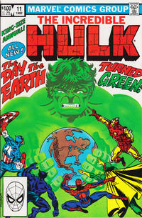 Cover Thumbnail for The Incredible Hulk Annual (Marvel, 1976 series) #11 [Direct]