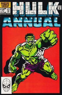 Cover Thumbnail for The Incredible Hulk Annual (Marvel, 1976 series) #12 [Direct]