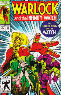 Cover Thumbnail for Warlock and the Infinity Watch (Marvel, 1992 series) #2 [Direct Edition]