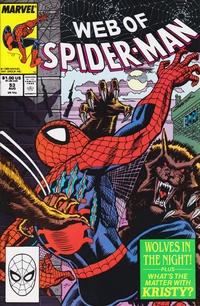 Cover Thumbnail for Web of Spider-Man (Marvel, 1985 series) #53 [Direct Edition]