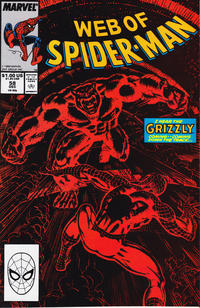 Cover Thumbnail for Web of Spider-Man (Marvel, 1985 series) #58 [Direct Edition]