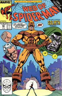 Cover Thumbnail for Web of Spider-Man (Marvel, 1985 series) #60 [Direct Edition]