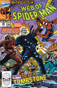 Cover Thumbnail for Web of Spider-Man (Marvel, 1985 series) #68 [Direct]