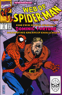 Cover Thumbnail for Web of Spider-Man (Marvel, 1985 series) #71 [Direct]