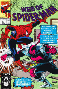 Cover Thumbnail for Web of Spider-Man (Marvel, 1985 series) #81 [Direct Edition]