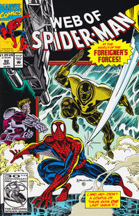 Cover Thumbnail for Web of Spider-Man (Marvel, 1985 series) #92 [Direct Edition]