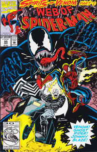 Cover Thumbnail for Web of Spider-Man (Marvel, 1985 series) #95 [Direct Edition]