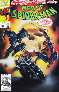 Cover Thumbnail for Web of Spider-Man (Marvel, 1985 series) #96 [Direct Edition]