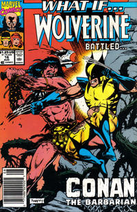 Cover Thumbnail for What If...? (Marvel, 1989 series) #16 [Newsstand]