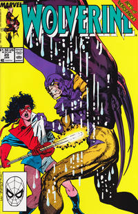 Cover Thumbnail for Wolverine (Marvel, 1988 series) #20 [Direct Edition]