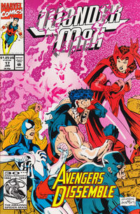 Cover for Wonder Man (Marvel, 1991 series) #17 [Direct Edition]