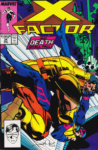 Cover Thumbnail for X-Factor (Marvel, 1986 series) #34 [Direct Edition]