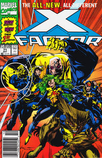Cover Thumbnail for X-Factor (Marvel, 1986 series) #71 [Newsstand Edition]