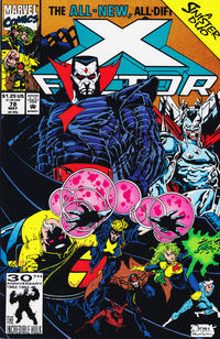 Cover for X-Factor (Marvel, 1986 series) #78 [Direct Edition]
