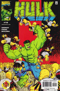 Cover Thumbnail for Hulk (Marvel, 1999 series) #10 [Direct Edition]