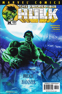 Cover Thumbnail for Incredible Hulk (Marvel, 2000 series) #30 (504) [Direct Edition]