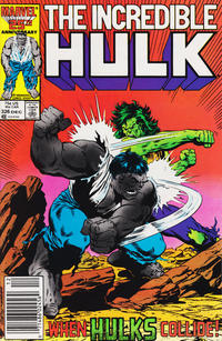 Cover Thumbnail for The Incredible Hulk (Marvel, 1968 series) #326 [Newsstand]