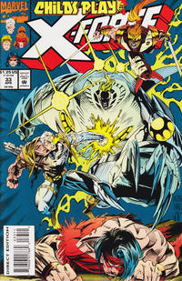 Cover Thumbnail for X-Force (Marvel, 1991 series) #33 [Direct Edition]