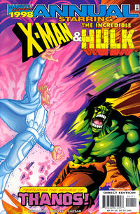 Cover Thumbnail for X-Man / Hulk '98 (Marvel, 1998 series)  [Direct Edition]