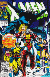 Cover Thumbnail for X-Men (Marvel, 1991 series) #17 [Direct Edition]