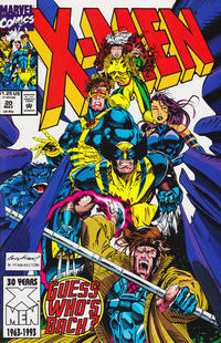 Cover Thumbnail for X-Men (Marvel, 1991 series) #20 [Direct Edition]