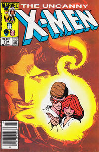 Cover Thumbnail for The Uncanny X-Men (Marvel, 1981 series) #174 [Newsstand Edition]
