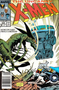 Cover Thumbnail for The Uncanny X-Men (Marvel, 1981 series) #233 [Newsstand]