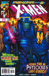 Cover Thumbnail for X-Men (Marvel, 1991 series) #78 [Direct Edition]