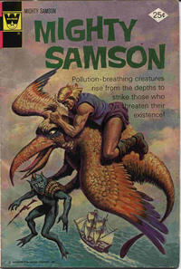 Cover Thumbnail for Mighty Samson (Western, 1964 series) #26 [Whitman Variant]