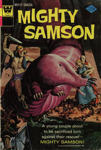 Cover Thumbnail for Mighty Samson (Western, 1964 series) #25 [Whitman Variant]