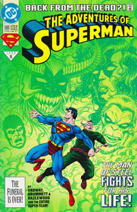 Cover Thumbnail for Adventures of Superman (DC, 1987 series) #500 [Direct]