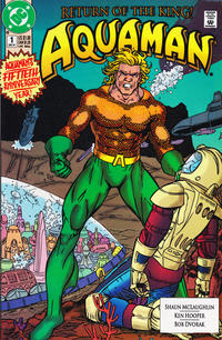 Cover Thumbnail for Aquaman (DC, 1991 series) #1 [Direct]