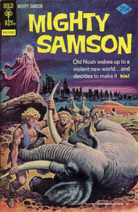 Cover Thumbnail for Mighty Samson (Western, 1964 series) #27 [Gold Key Variant]