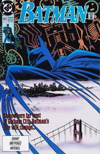 Cover Thumbnail for Batman (DC, 1940 series) #462 [Direct]