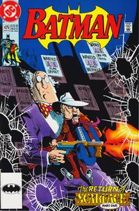 Cover Thumbnail for Batman (DC, 1940 series) #475 [Direct]