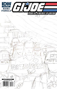 Cover Thumbnail for G.I. Joe: A Real American Hero (IDW, 2010 series) #156 [Cover RI]