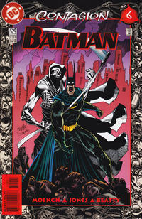 Cover for Batman (DC, 1940 series) #529 [Direct]