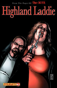 Cover Thumbnail for The Boys: Highland Laddie (Dynamite Entertainment, 2010 series) #3