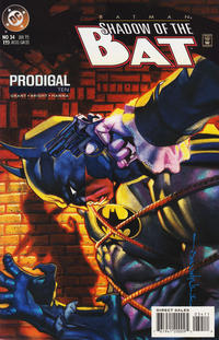 Cover Thumbnail for Batman: Shadow of the Bat (DC, 1992 series) #34 [Direct]