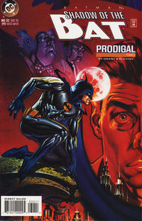 Cover Thumbnail for Batman: Shadow of the Bat (DC, 1992 series) #32 [Direct Sales]