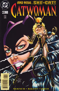 Cover Thumbnail for Catwoman (DC, 1993 series) #43 [Direct]