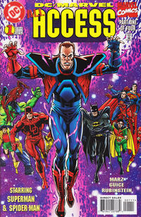 Cover Thumbnail for DC / Marvel All Access (DC / Marvel, 1996 series) #1 [Direct Edition]